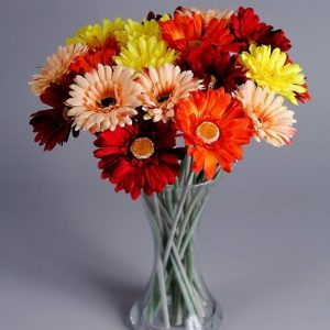 autumn faux flowers