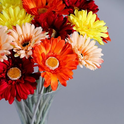 Artificial Gerbera silk flowers 5