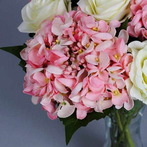 Pink Artificial Hydrangeas