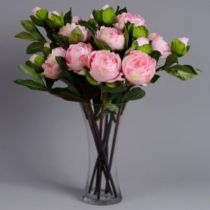 artificial flowers peonies