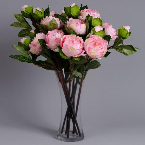 artificial flowers peonies