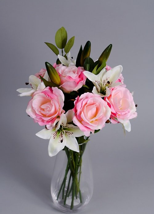 Simply Pink Rose & Lily 3
