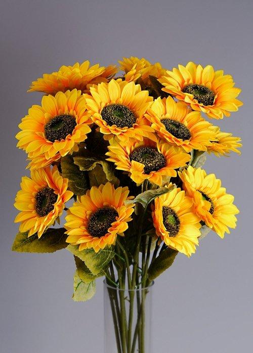 Artificial Sunflowers silk flowers 2
