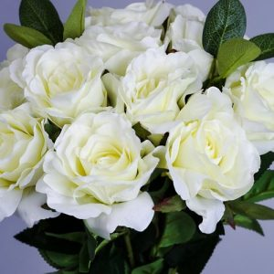 Artificial White Flowers