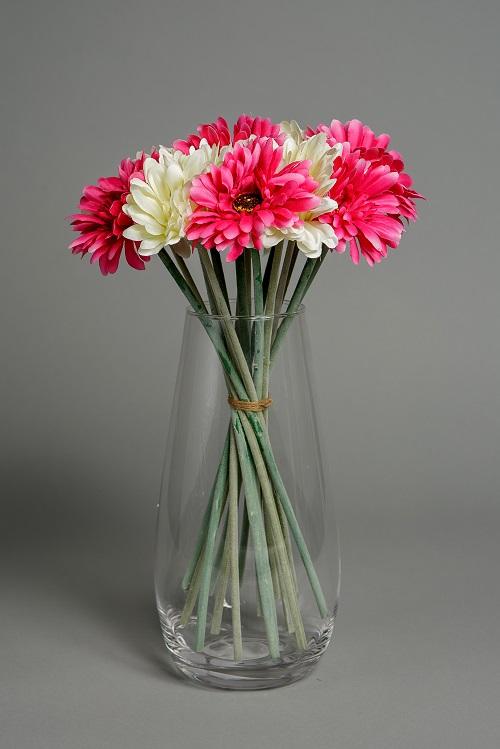 Artificial Baby Pink Silk Flowers 1