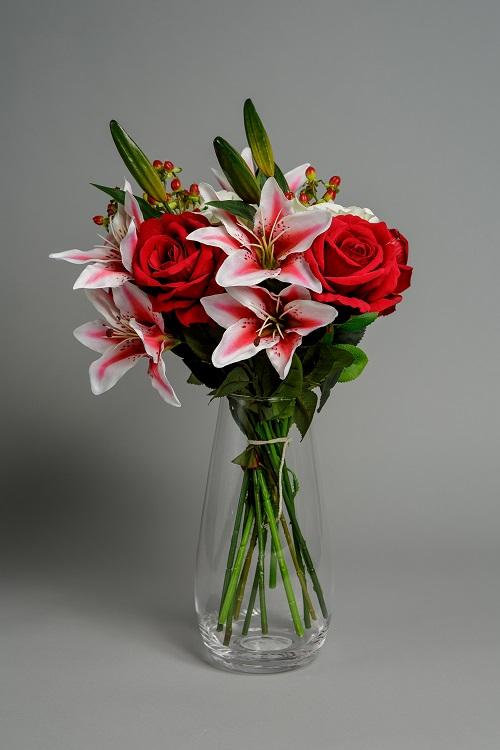 Artificial Festive Punch silk flower 2