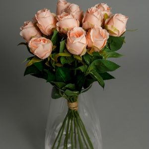 Peach Artificial Flowers