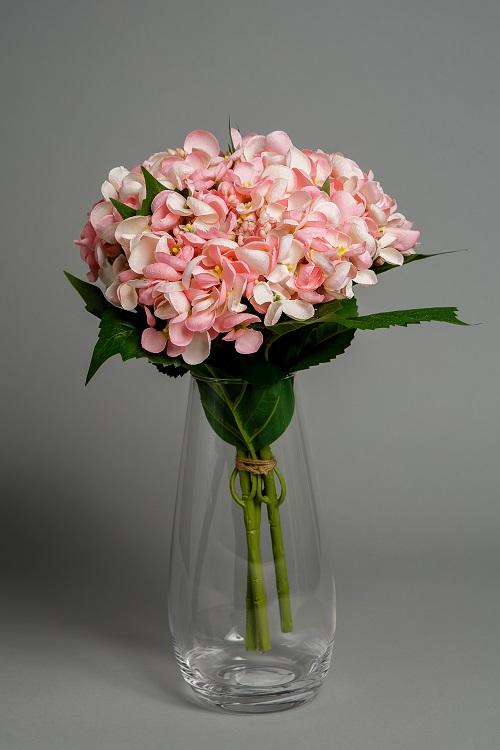 artificial pink hydrangea