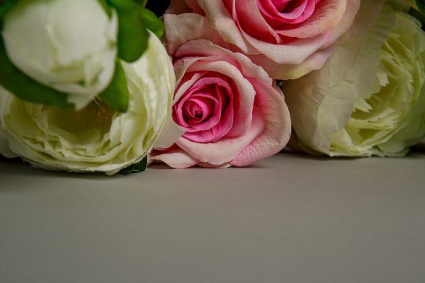 artificial peonies bouquet