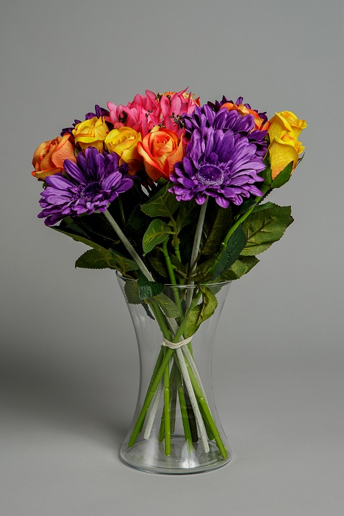 Artificial Vibrant Silk Flower 1