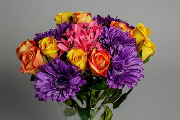 Artificial Vibrant Silk Flower 3
