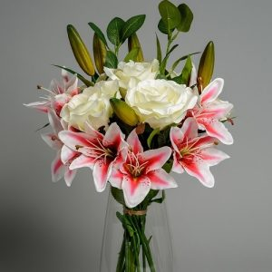 Artificial Lily Bouquet