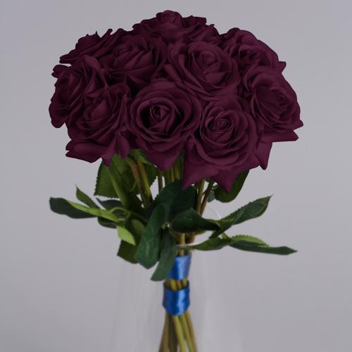 Artificial Purple Roses