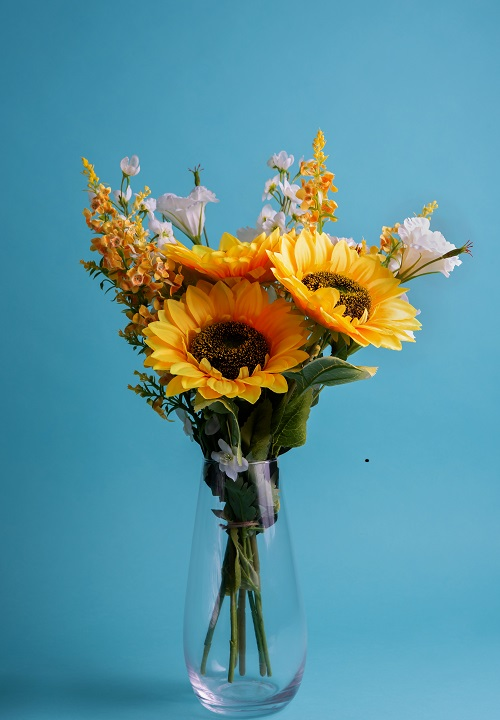 Artificial Sunflower Arrangement