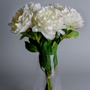 artificial flowers peony