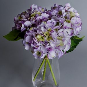 artificial hydrangea arrangement
