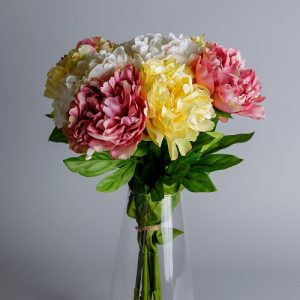 peonies artificial flowers