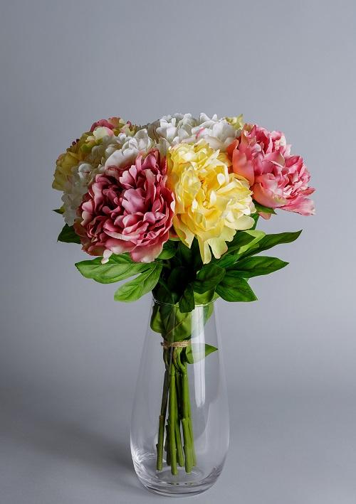 peonies artificial flowers