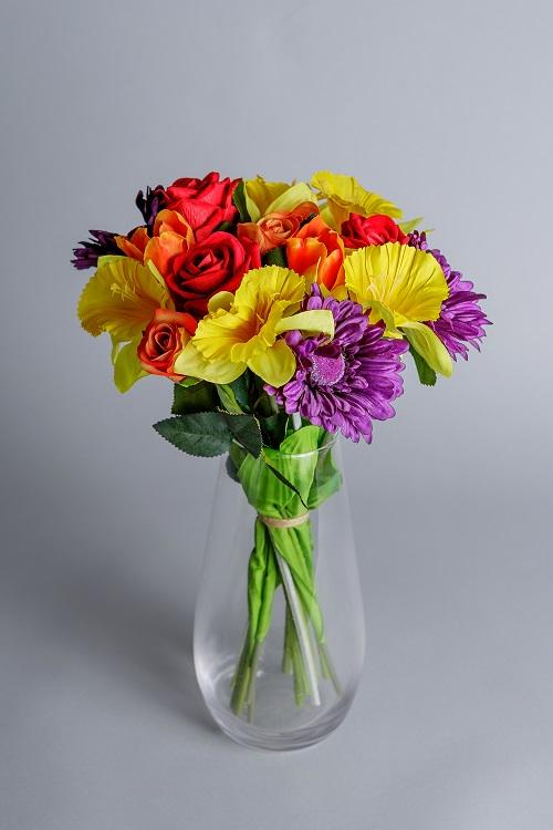 artificial tulips