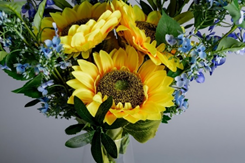 Bouquet of Artificial Friendship Sunflowers