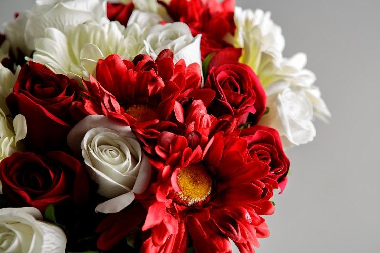 Artificial Sympathy Flowers