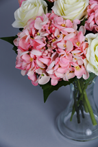 Artificial Pink Hydrangeas