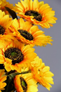 Artificial Autumn Flowers (Sunflowers)