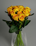 Artificial Autumn Flowers (Yellow roses)