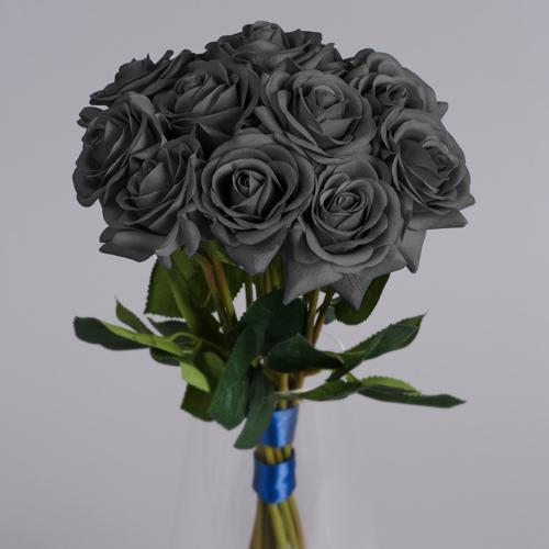 artificial grey roses